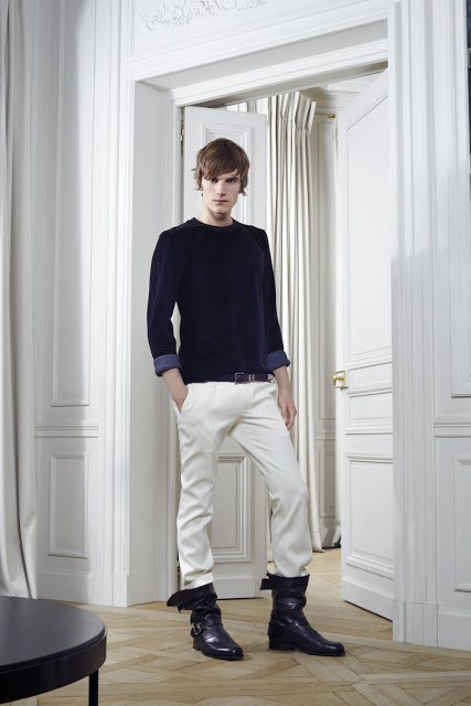 Balmain Fall Winter 2012 menswear