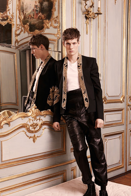 Balmain Fall Winter 2013 menswear