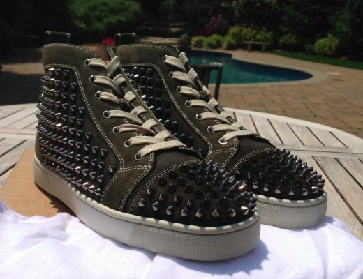 Christian-Louboutin-English-Green-Louis-Spikes-Sneakers-5