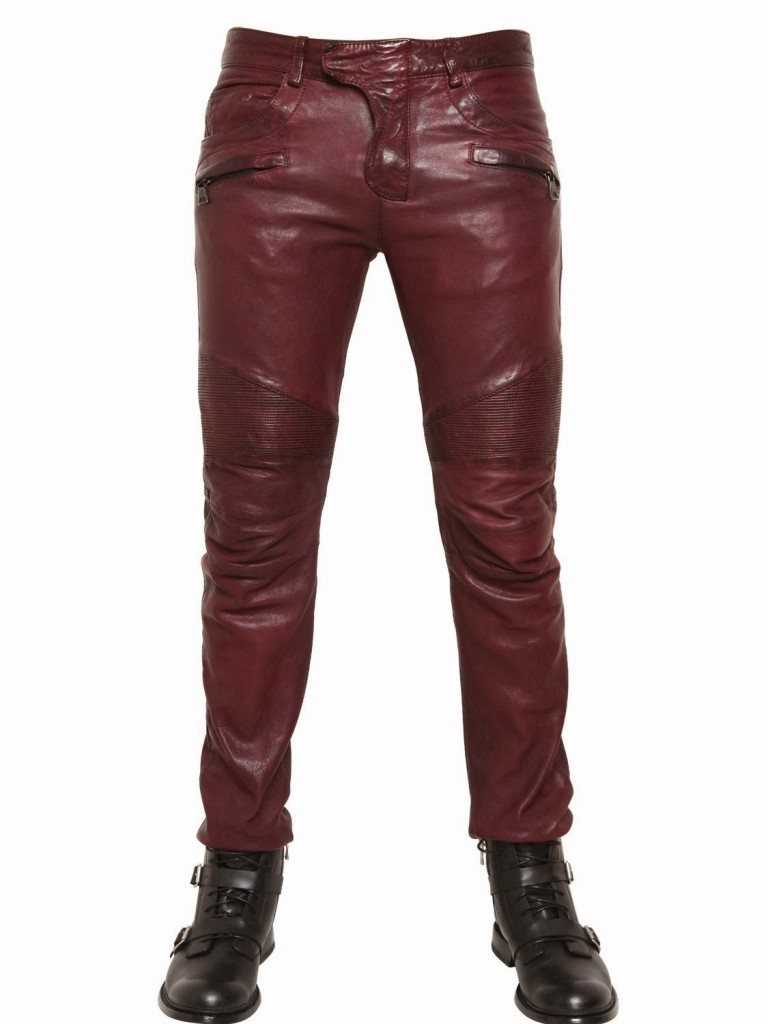 factory authentic quality pretty cheap Balmain Fall Winter 2013 Biker Jeans and Trousers Size Guide ...