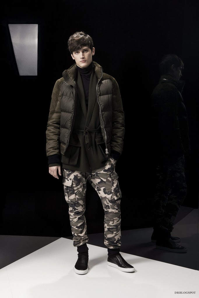 Balmain Fall Winter 2014 Menswear Collection