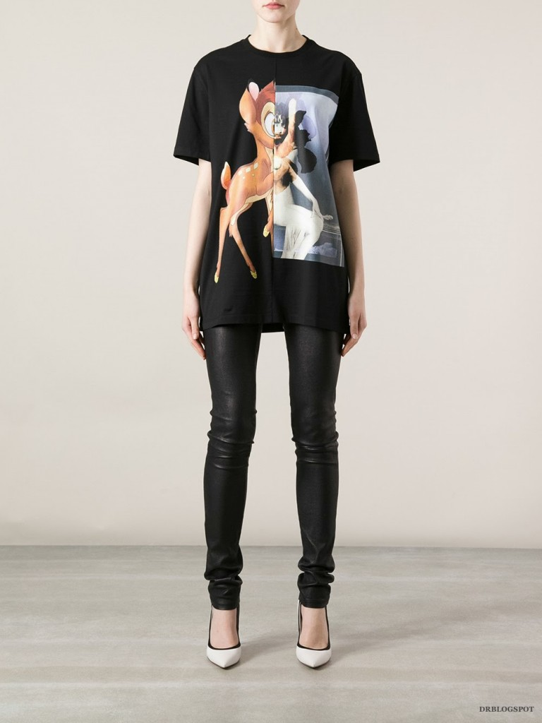 Givenchy Bambi Print Cuban-Fit T-Shirt – Second Kulture f409969816