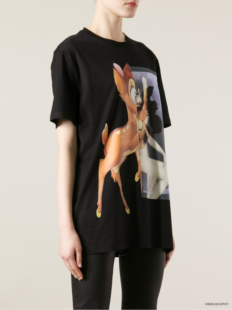 e9bdfbca Givenchy Bambi Print Cuban-Fit T-Shirt – Second Kulture