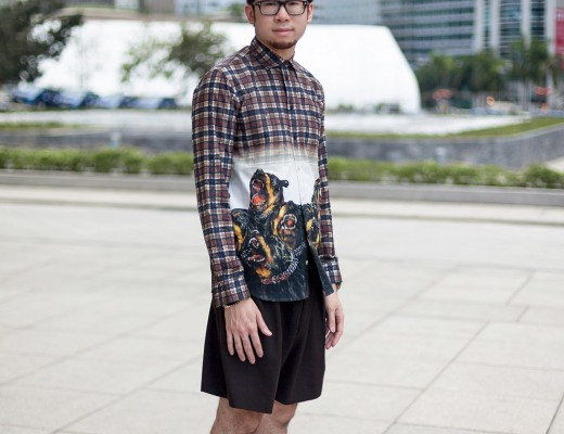 Givenchy_Rottweiler_Tartan_Plaid_Print_Shirt_OOTD__MG_9787