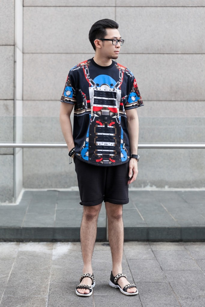 73c63e8852ac Overworn Topman Black Cotton Shorts and ever desirable Givenchy Palladio  Chain Sandals. More advance previews through my Instagram as always