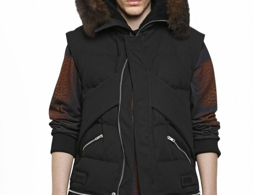 Givenchy-Black-Possom-Fur-Hooded-Cotton-Canvas-Padded-Jacket_Fall-Winter-2014