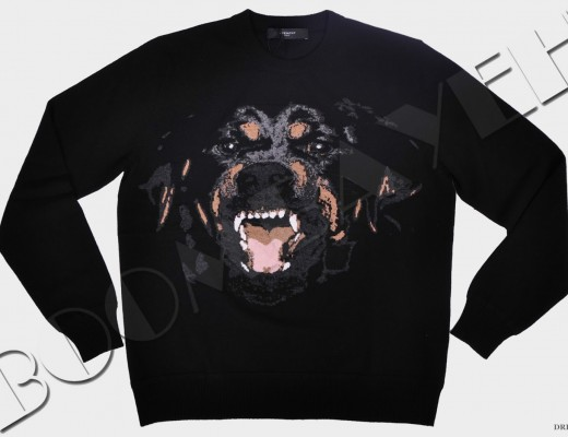 Givenchy-Black-Rottweiler-Print-Cuban-Fit-Pullover-Sweater_Pre-Fall-2014