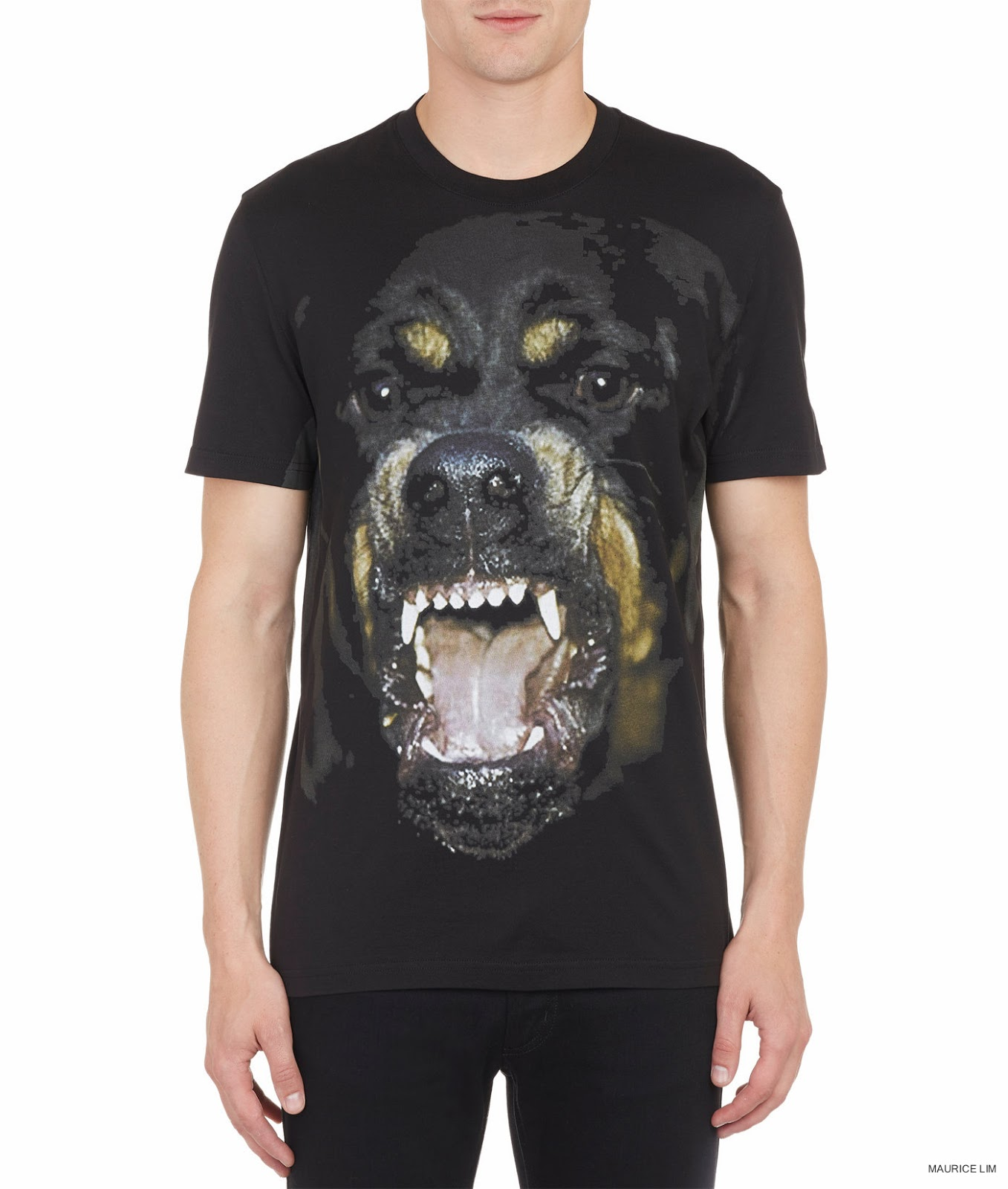 givenchy rottweiler print cuban fit t shirt second kulture