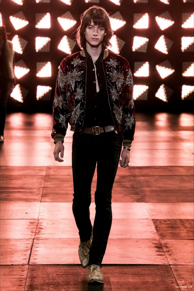 1fb9e7ae6e5 Shop the latest Saint Laurent Fall Winter 2014 menswear collection at Luisa  Via Roma now!