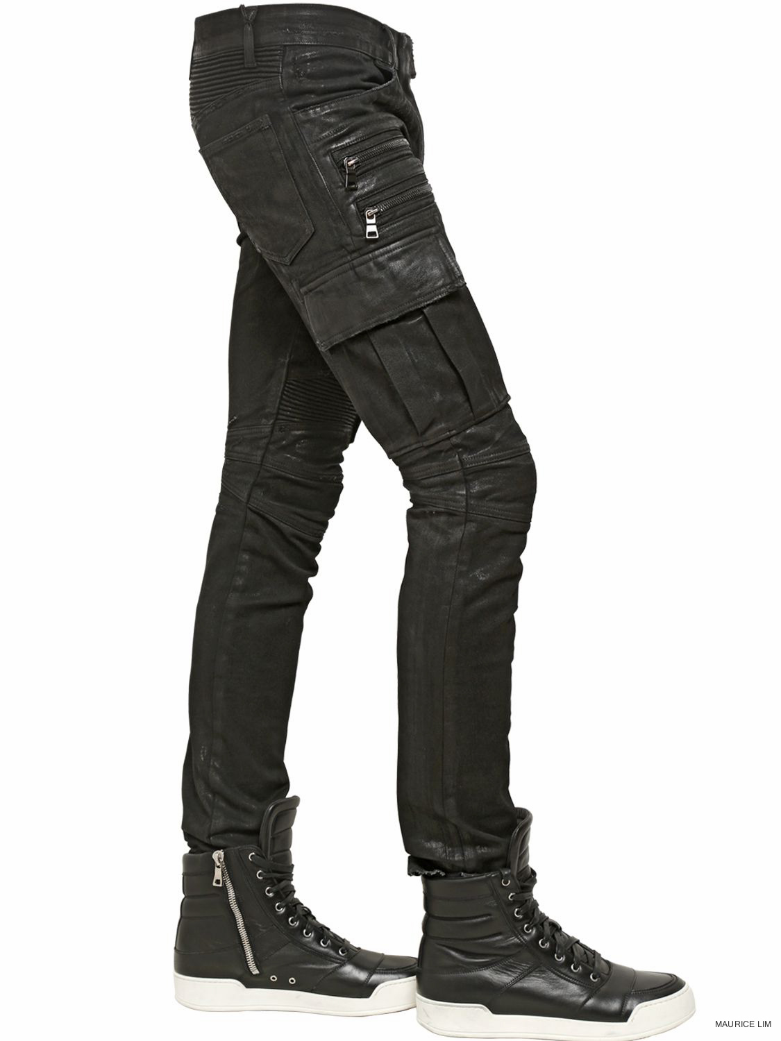 4550c502 Balmain Fall Winter 2014 Biker Jeans and Trousers Size Guide – Second  Kulture