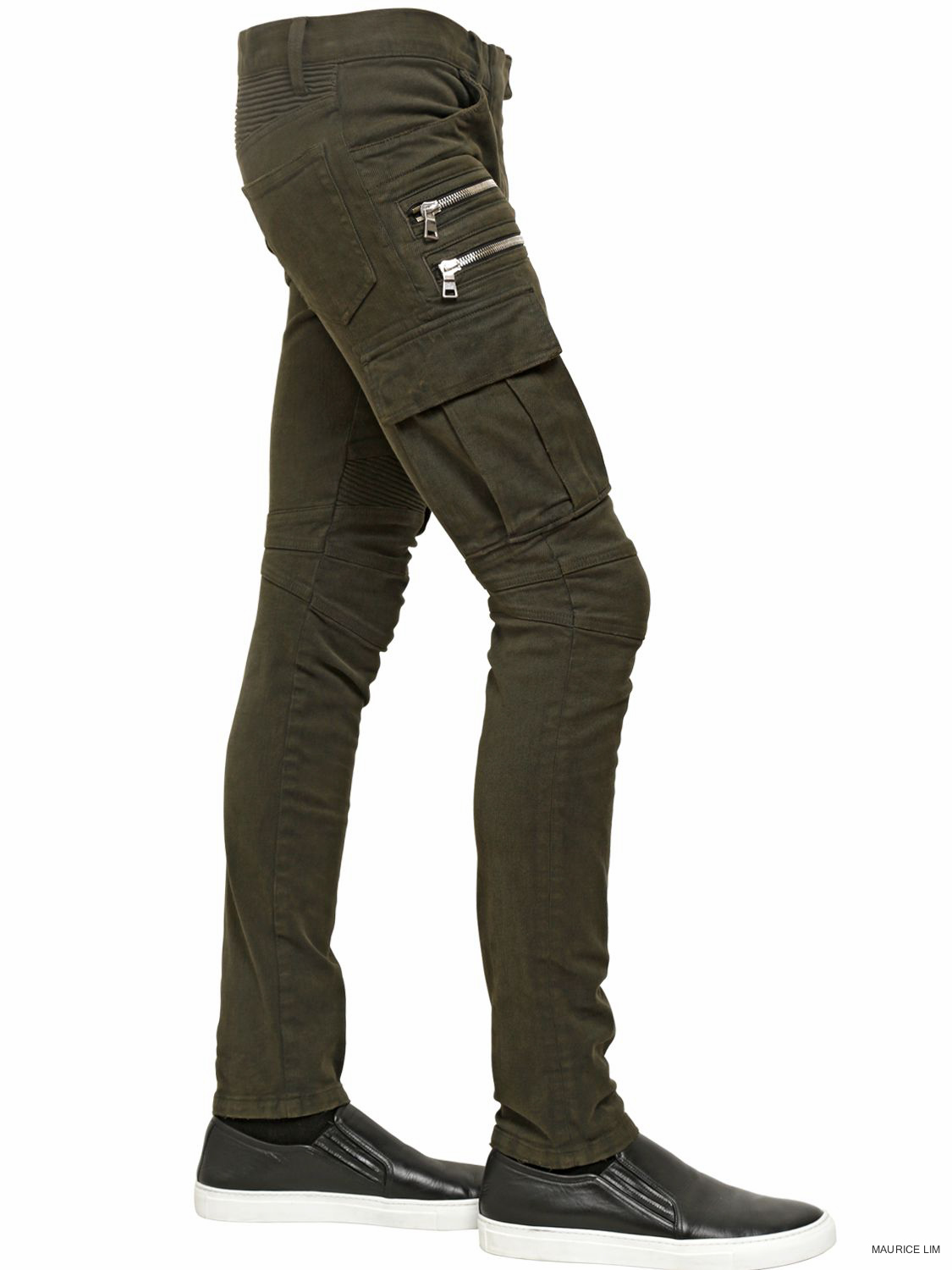 cd999375 BALMAIN 16.5CM BLACK WAXED COATED COTTON CARGO BIKER JEANS Matches Fashion  $1,291 — BUY IT NOW Farfetch $1,317 — BUY IT NOW SSENSE $1,600 —BUY IT NOW