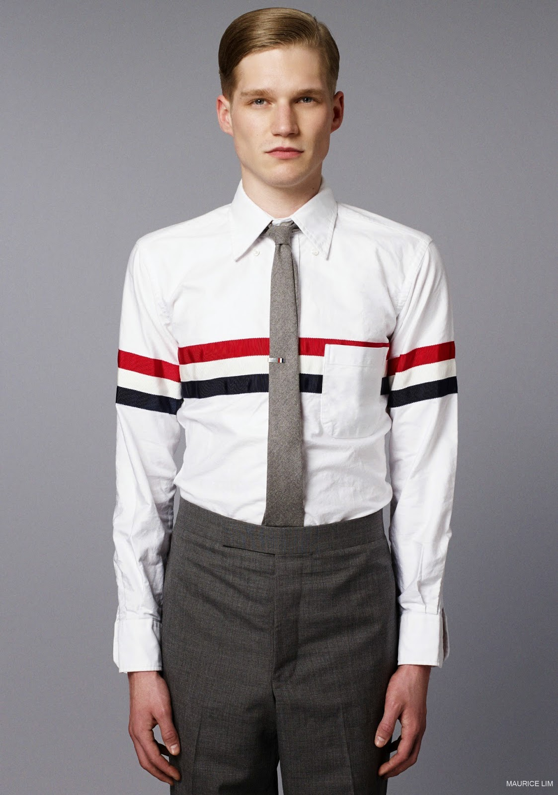b92e2fac176 Thom Browne Fall Winter 2014 Lookbook – Second Kulture