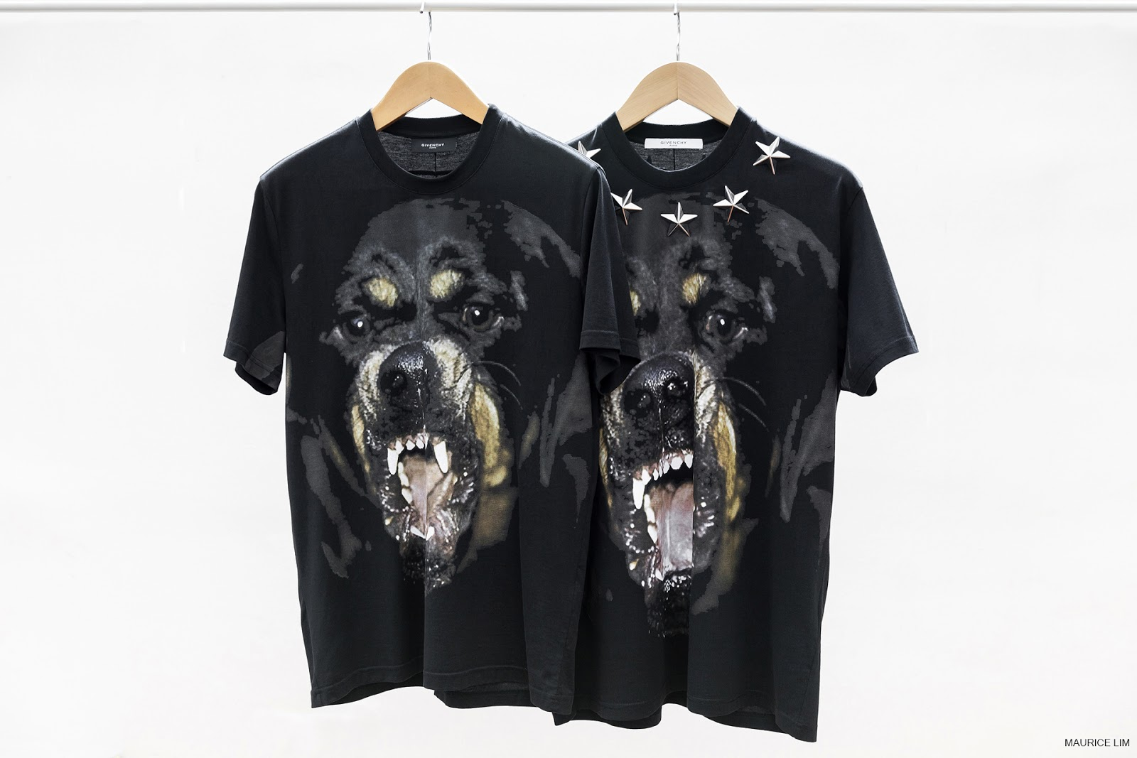 71f84a3d587bd Givenchy Rottweiler Star Appliqué Print Columbian-Fit T-Shirt ...