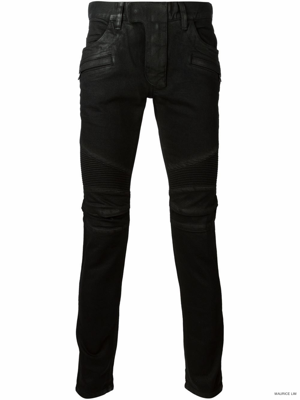 Balmain Spring Summer 2015 Biker Jeans and Trousers Size Guide