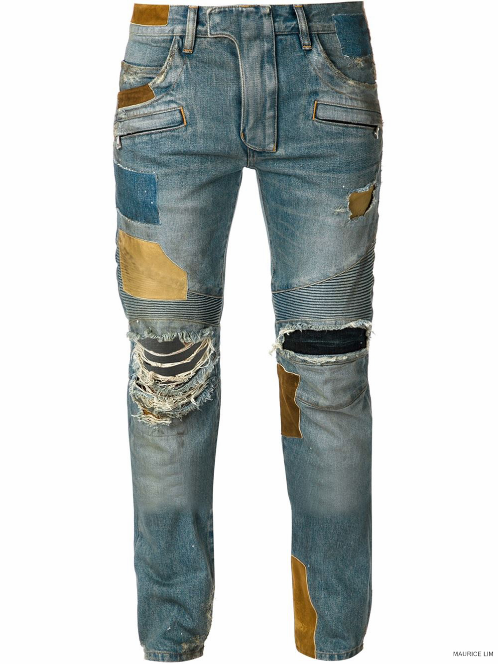 9969f87f Balmain Spring Summer 2015 Biker Jeans and Trousers Size Guide – Second  Kulture