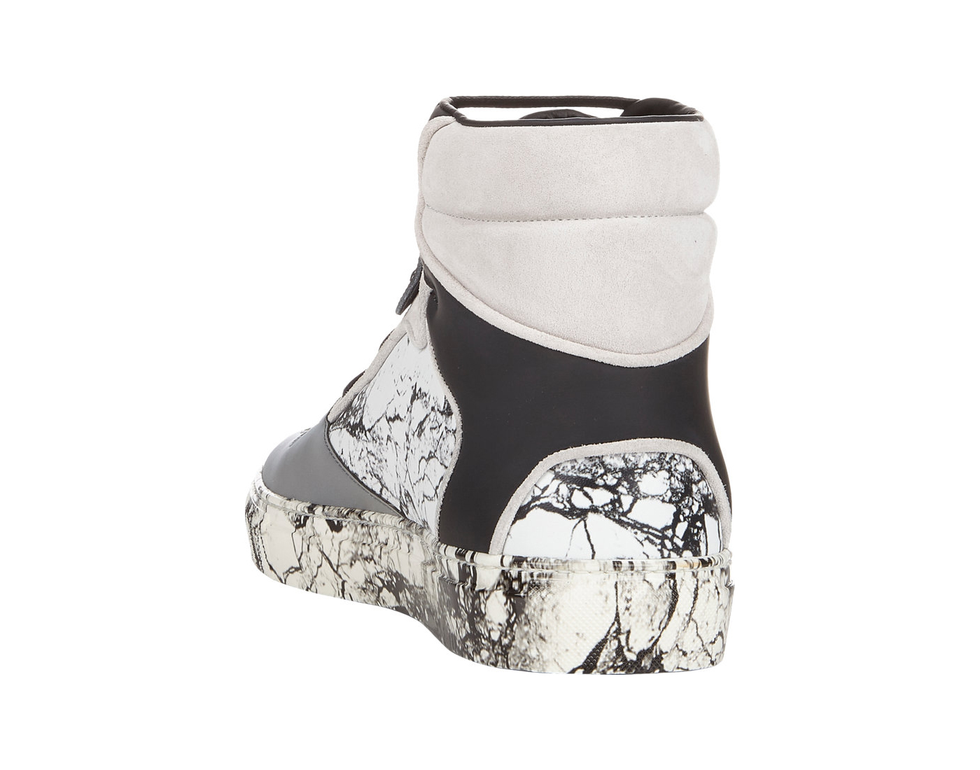 Balenciaga Marble High Top Sneakers