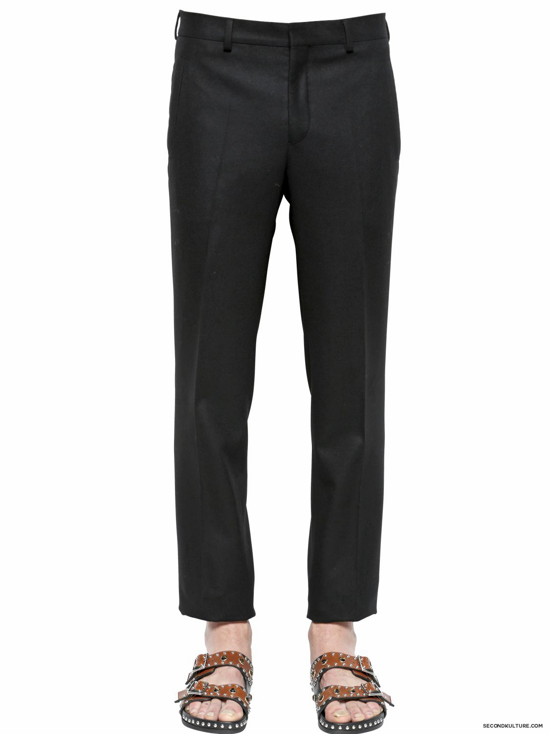 Givenchy-19cm-Pocket-Loop-Wool-Flannel-Trousers-Fall-Winter-2015-1