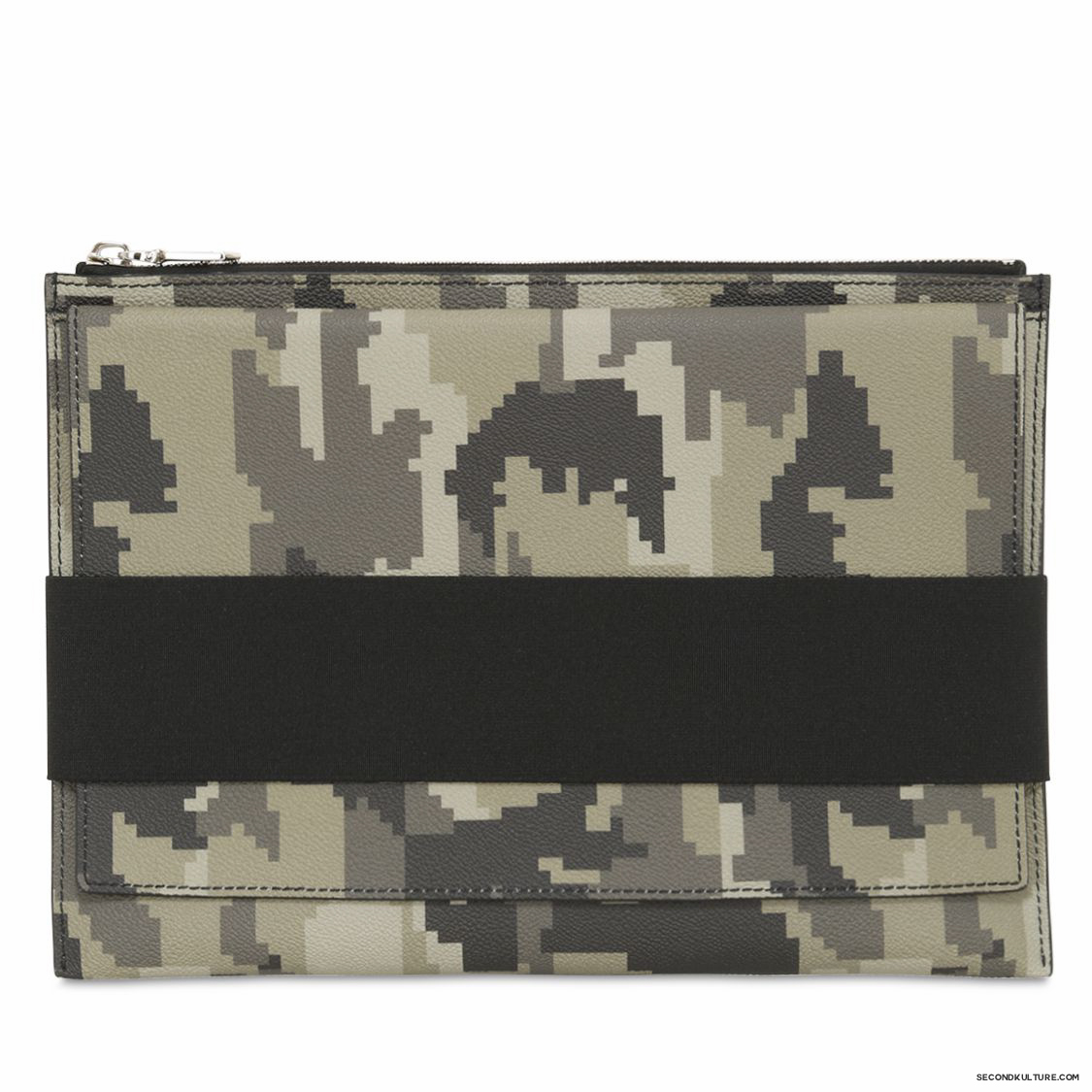 Givenchy-Digital-Camo-Elastic-Band-Zipped-Canvas-Leather-Pouch-Fall-Winter-2015-1