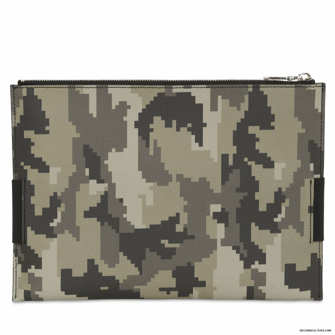 Givenchy-Digital-Camo-Elastic-Band-Zipped-Canvas-Leather-Pouch-Fall-Winter-2015-2