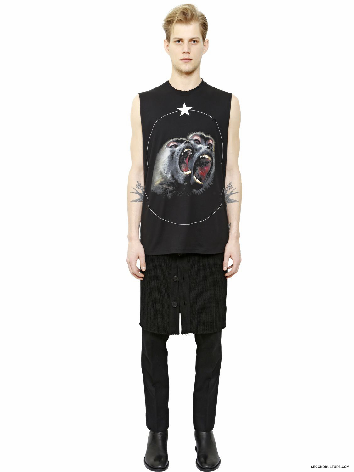 Givenchy-Monkey-Star-Print-Sleeveless-T-Shirt-Fall-Winter-2015-2