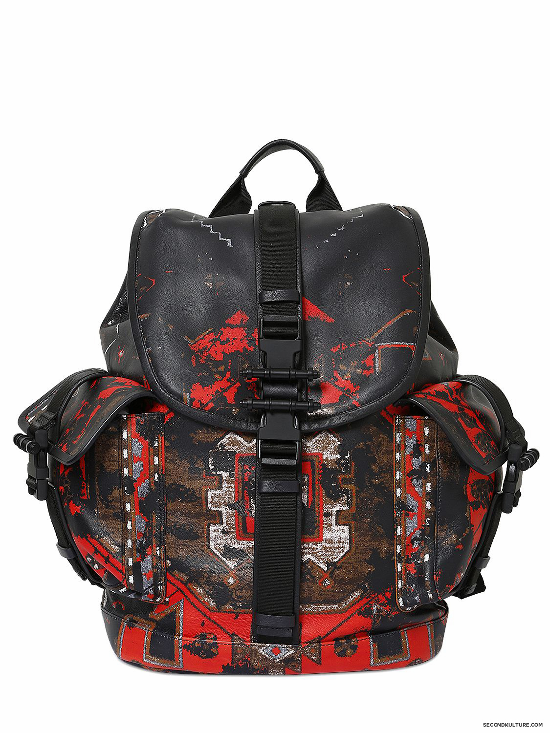 Givenchy-Native-American-Carpet-Degraded-Print-Obsedia-Leather-Backpack-Fall-Winter-2015-1