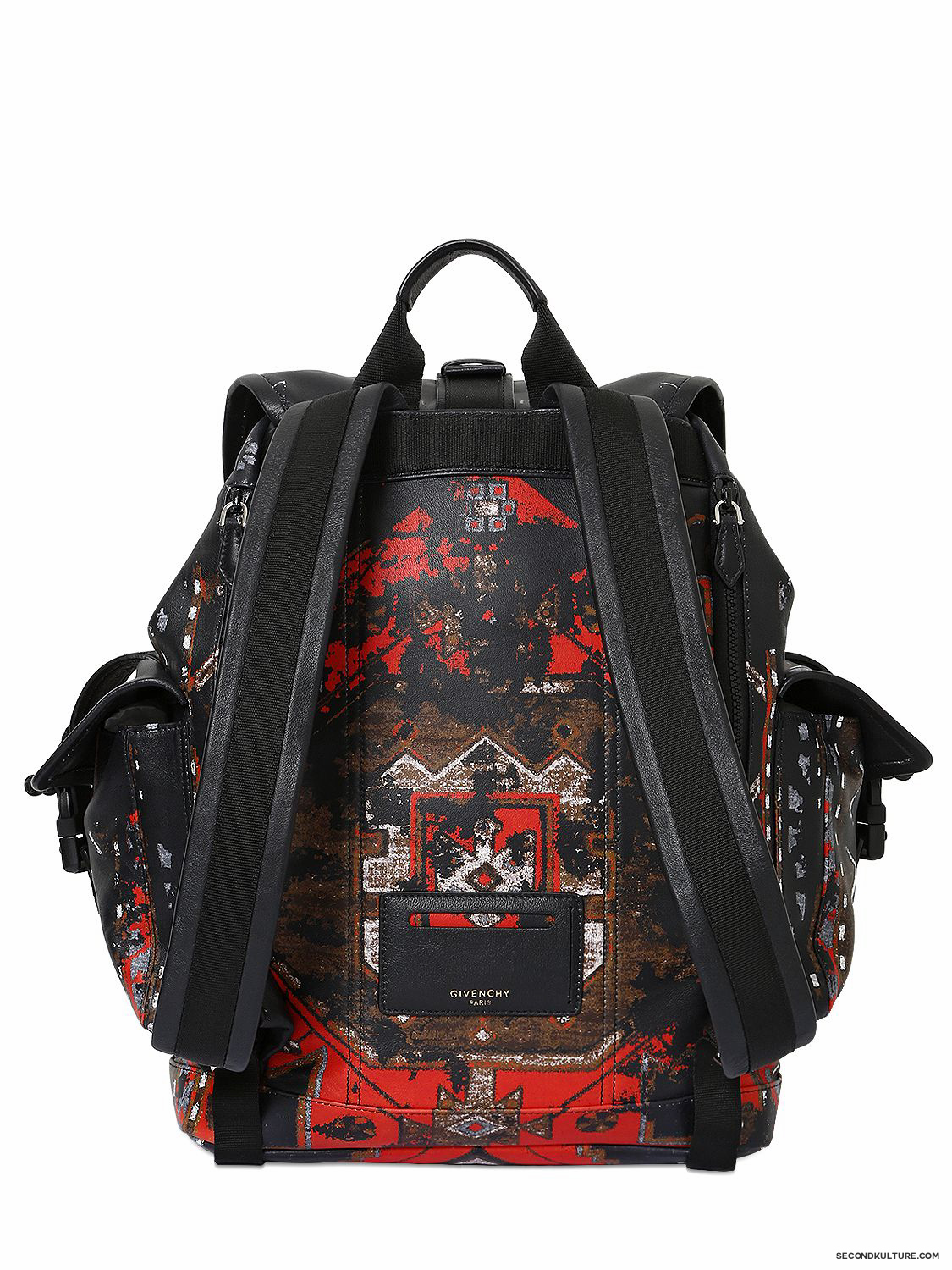 Givenchy-Native-American-Carpet-Degraded-Print-Obsedia-Leather-Backpack-Fall-Winter-2015-2
