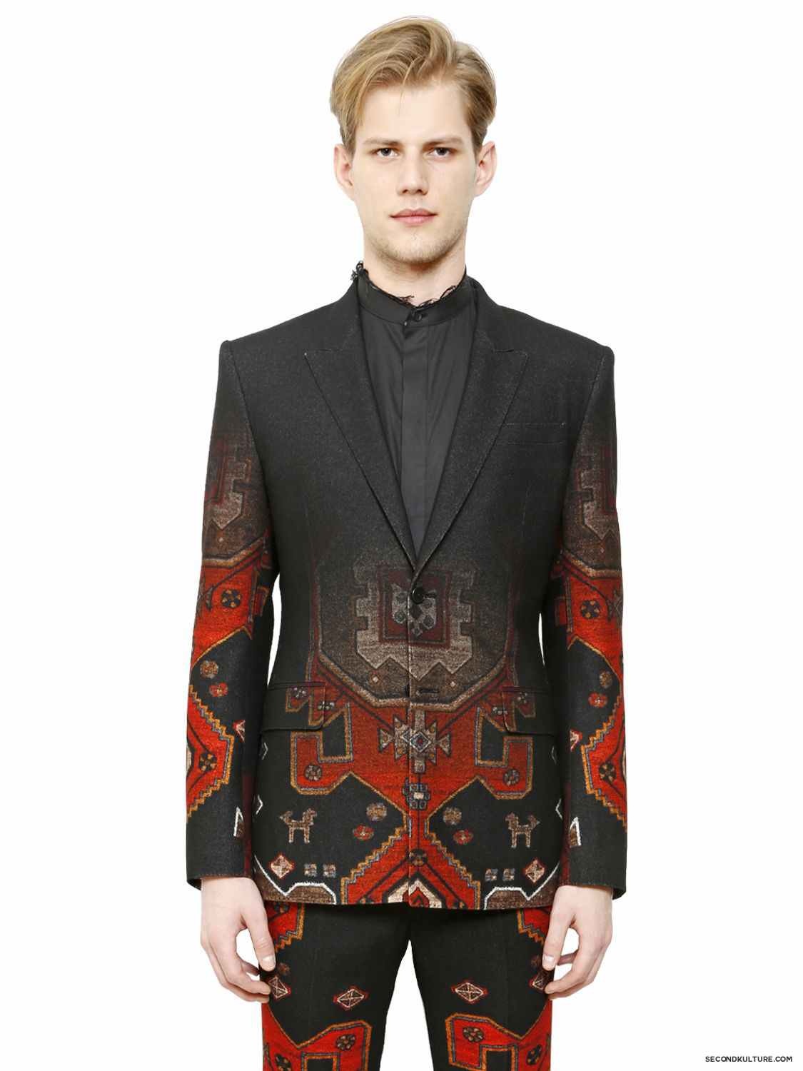 Givenchy-Native-American-Carpet-Gradient-Wool-Flannel-Jacket-Fall-Winter-2015-1