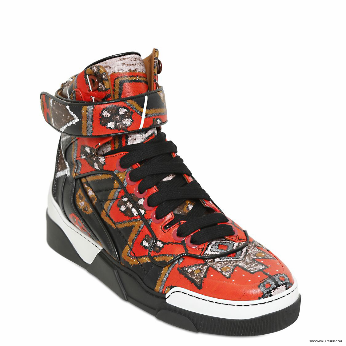 Givenchy-Native-American-Carpet-Print-Tyson-Leather-High-Top-Sneakers-Fall-Winter-2015-2