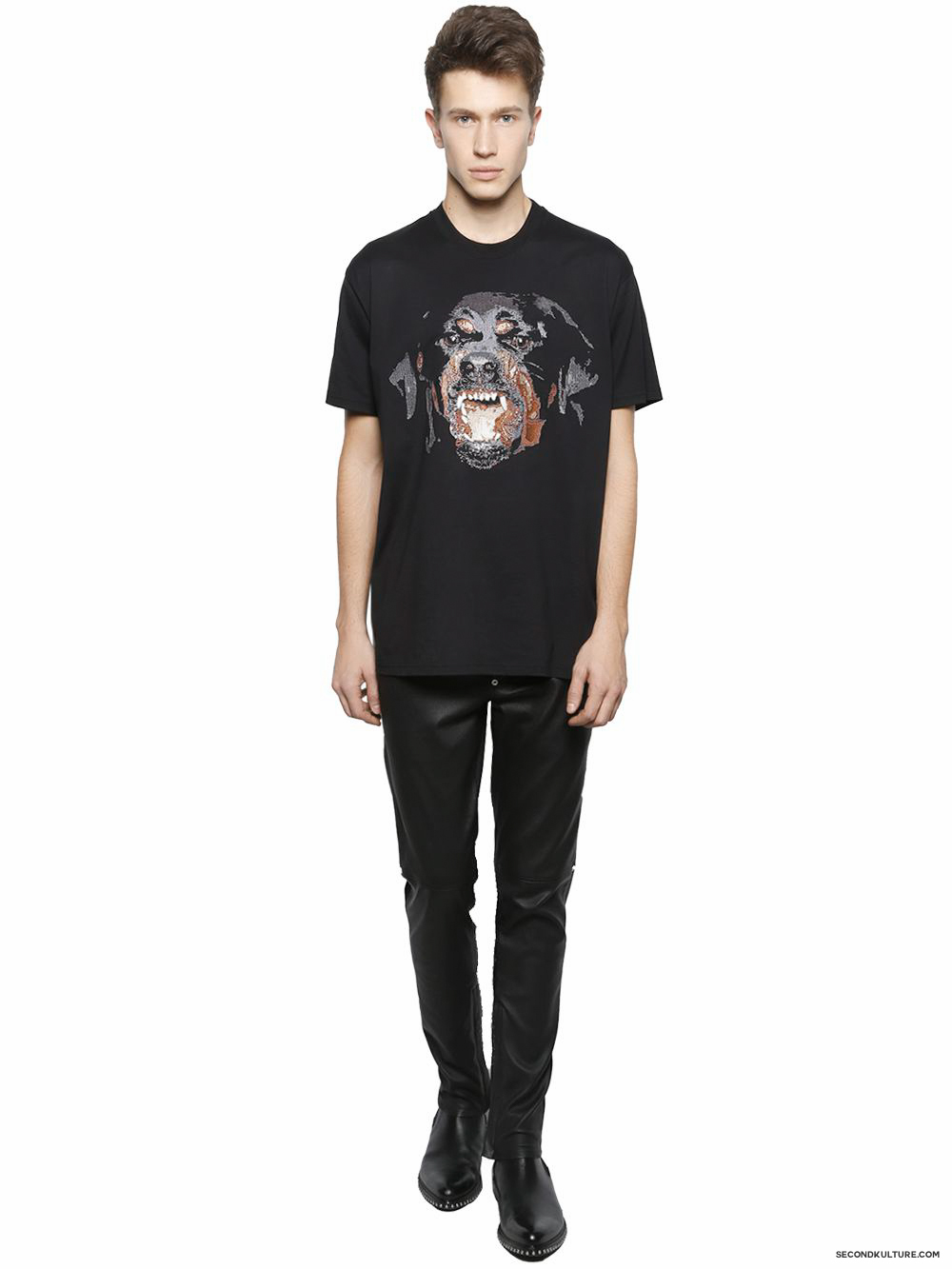 Givenchy-Rottweiler-Embroidered-Cuban-Fit-T-Shirt-Fall-Winter-2015-2