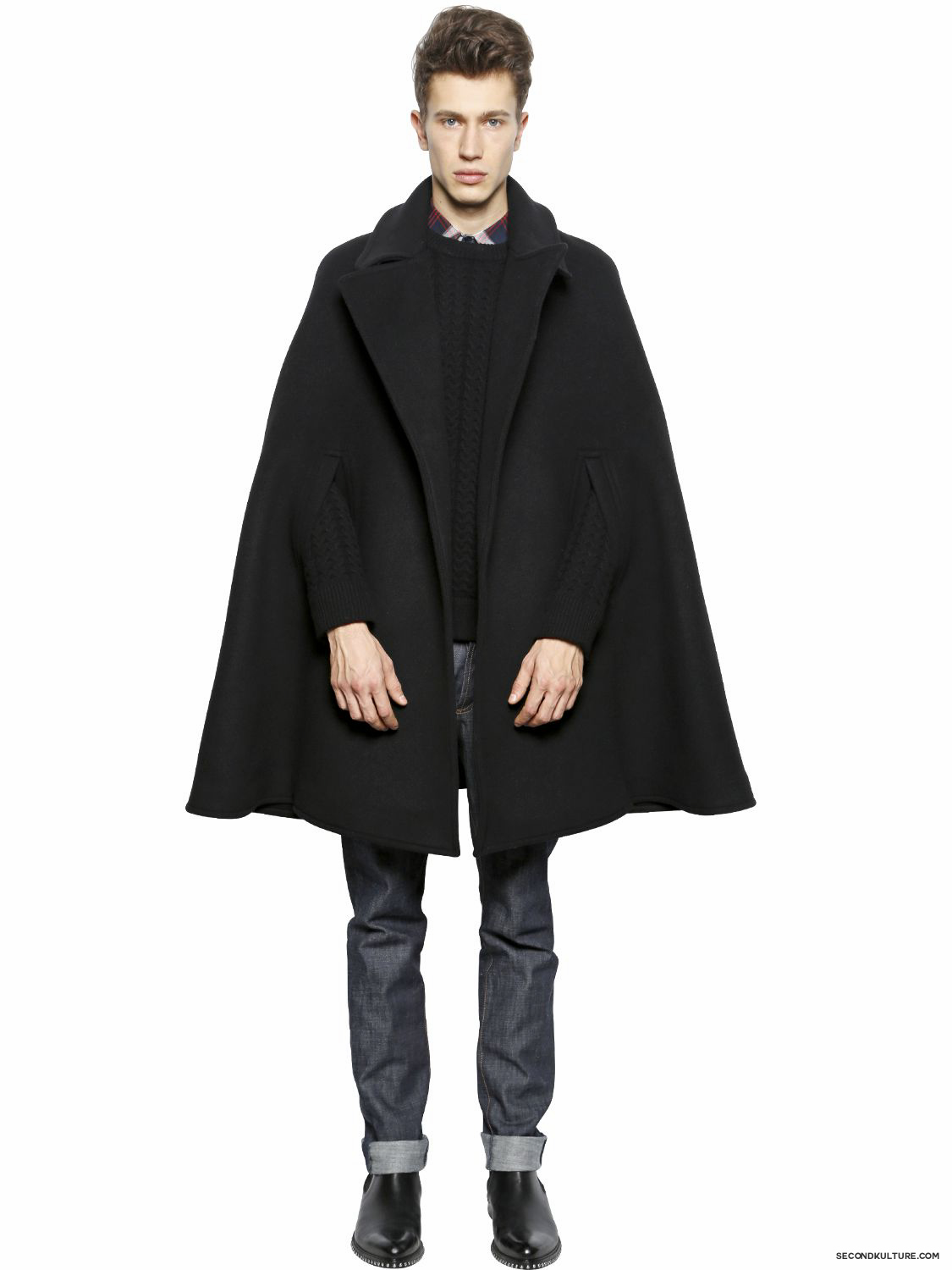 Givenchy-Wool-Felt-Cape-Fall-Winter-2015-2