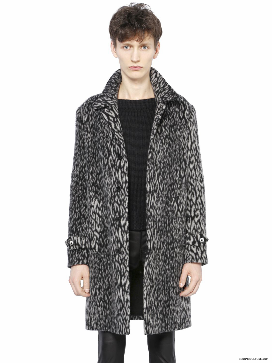 Saint-Laurent-Babycat-Wool-Blend-Coat-Fall-Winter-2015-1