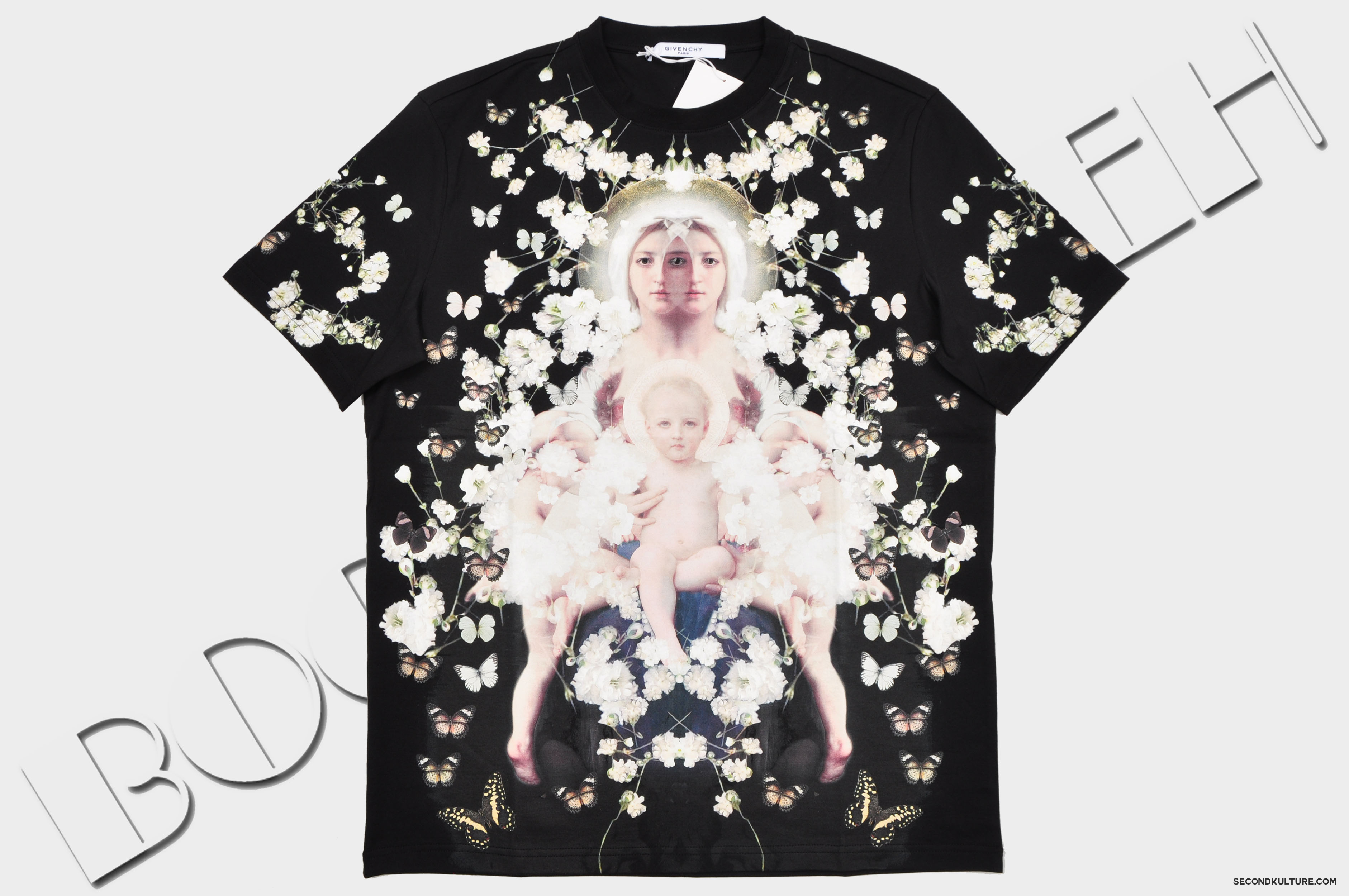 Givenchy-Black-Madonna-Floral-Gypsophila-Babys-Breath-Print-Colombian-Fit-T-Shirt-Pre-Fall-2015-15X7708493