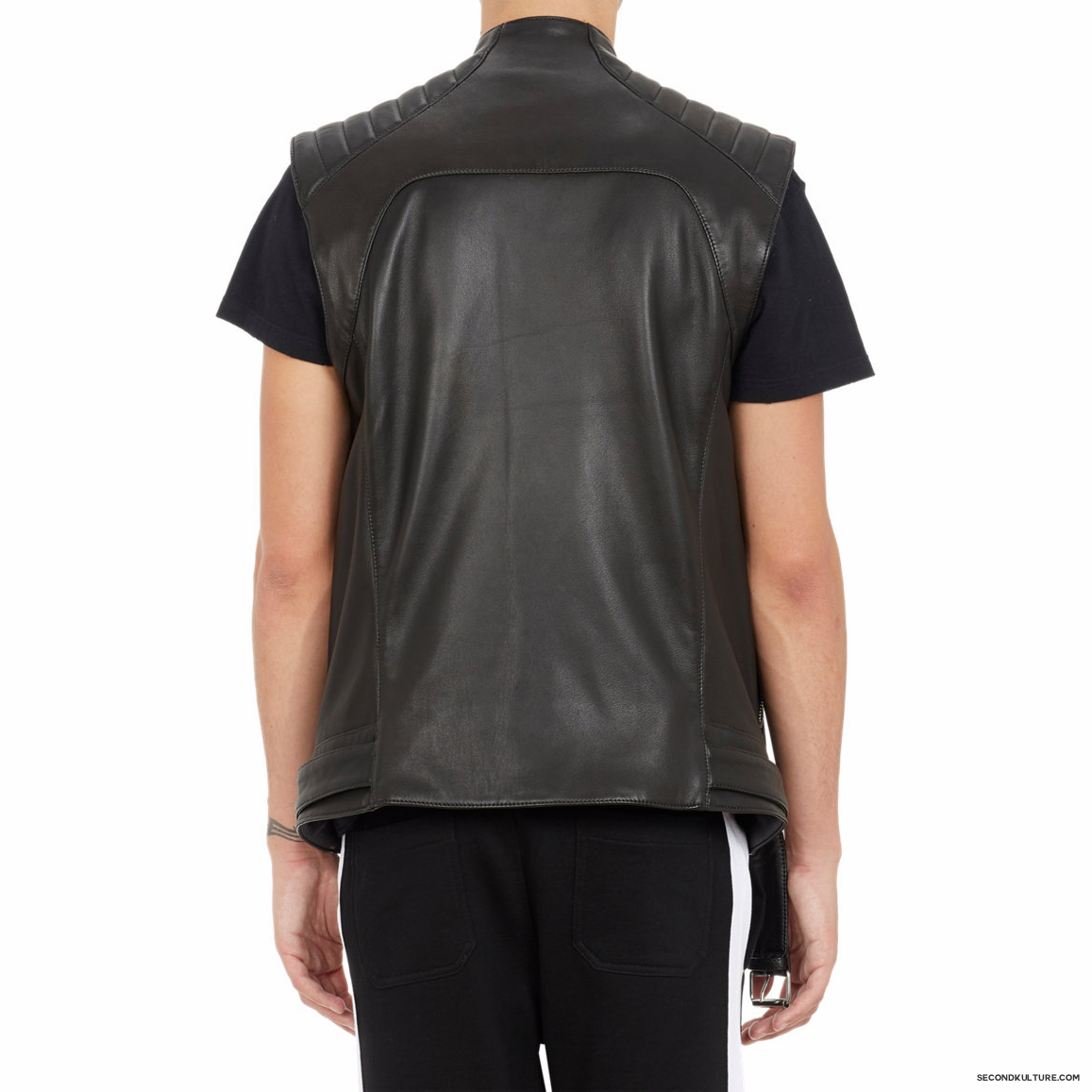 Balmain-Biker-Leather-Moto-Vest-2