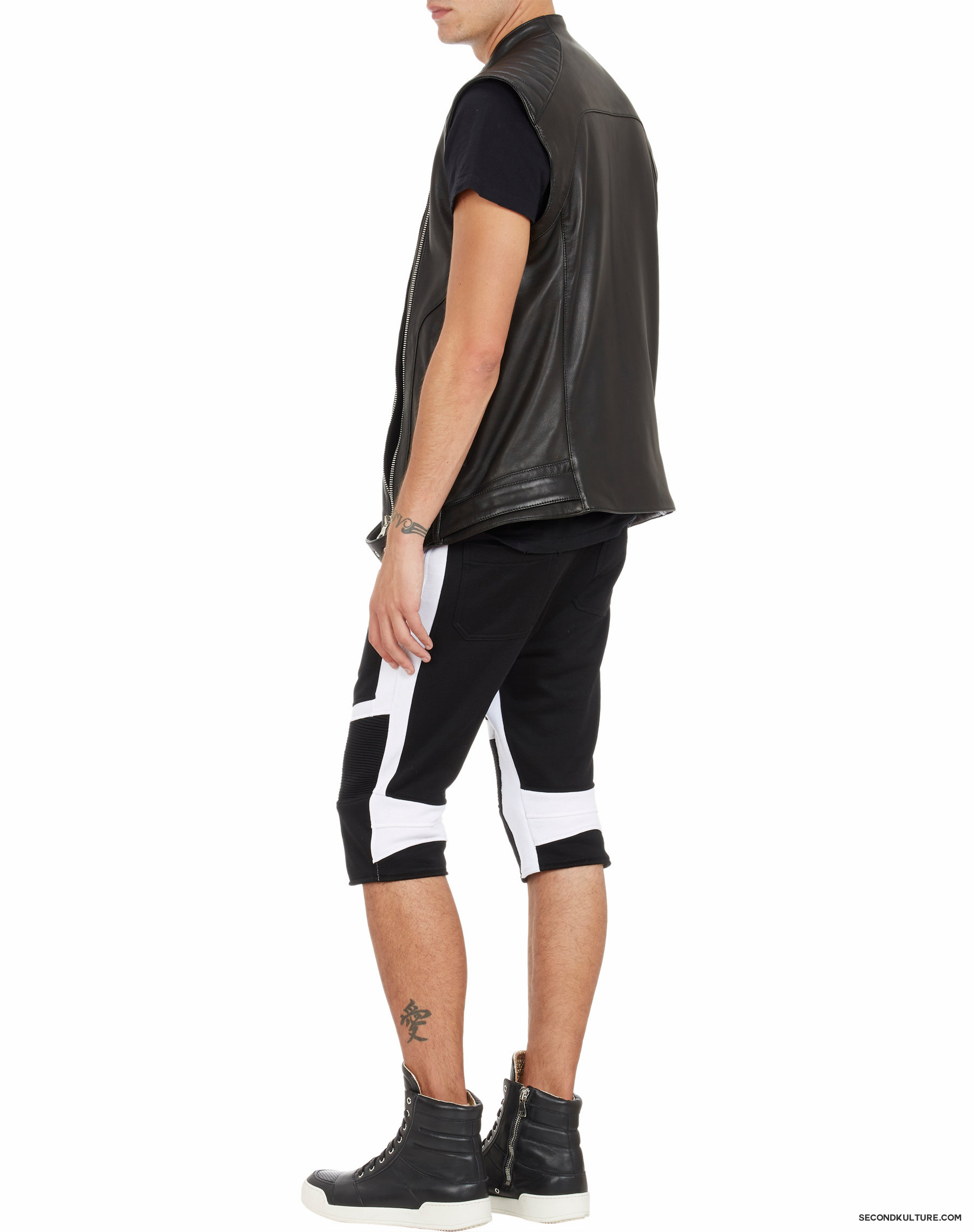 Balmain-Biker-Leather-Moto-Vest-4