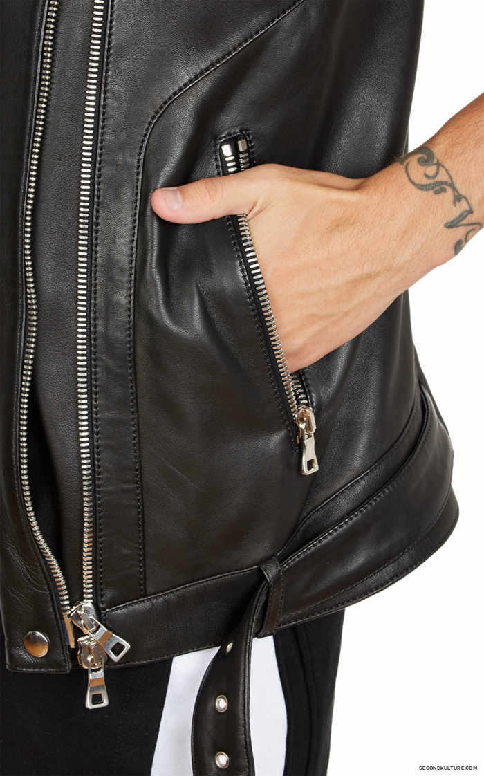 Balmain-Biker-Leather-Moto-Vest-8