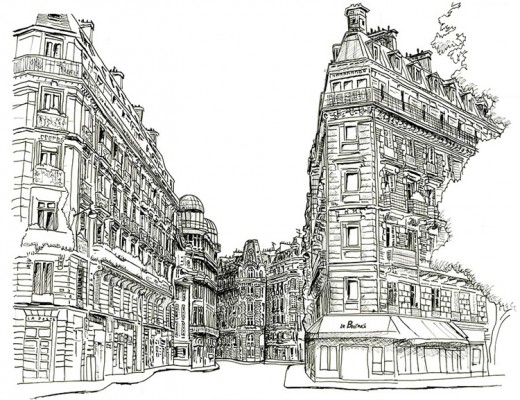 Erik-Gauger-Paris-Street-Sketch-Artwork