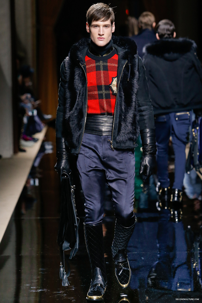 Balmain Fall Winter 2016 Menswear - Look 13/63