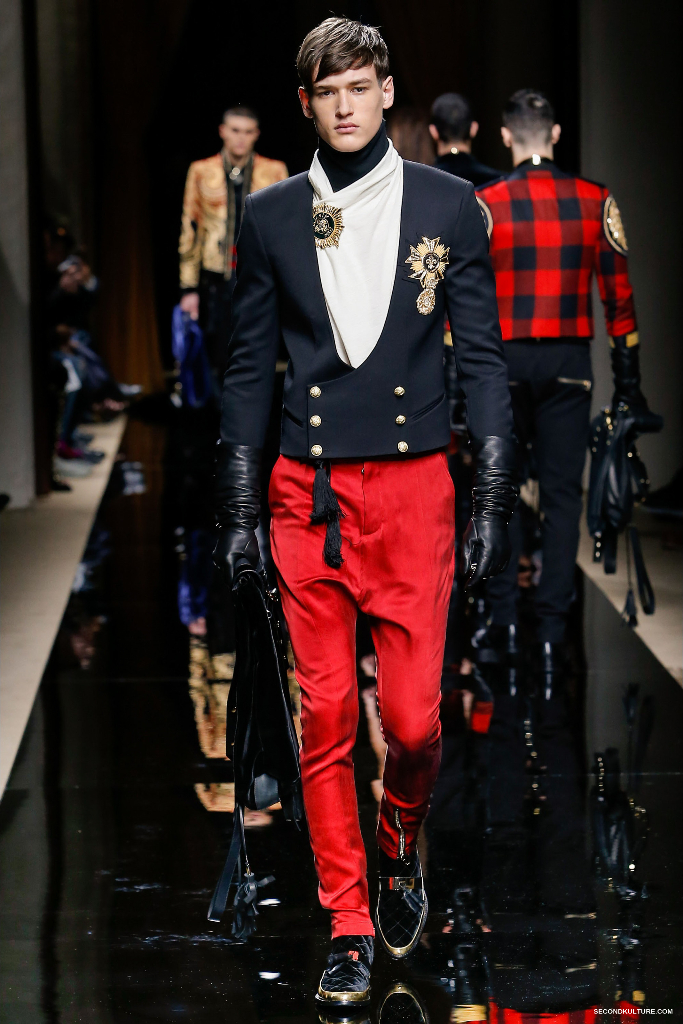 Balmain Fall Winter 2016 Menswear - Look 19/63