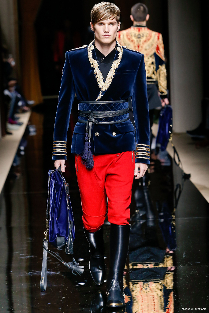 Balmain Fall Winter 2016 Menswear - Look 21/63
