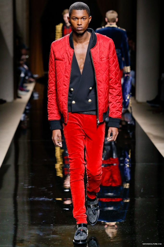 Balmain Fall Winter 2016 Menswear - Look 22/63