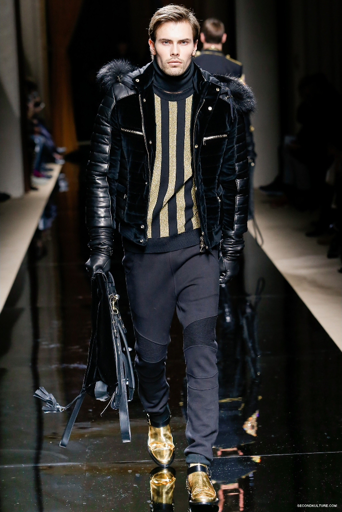 Balmain Fall Winter 2016 Menswear - Look 25/63