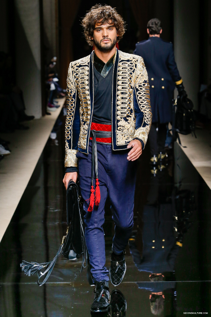 Balmain Fall Winter 2016 Menswear - Look 3/63