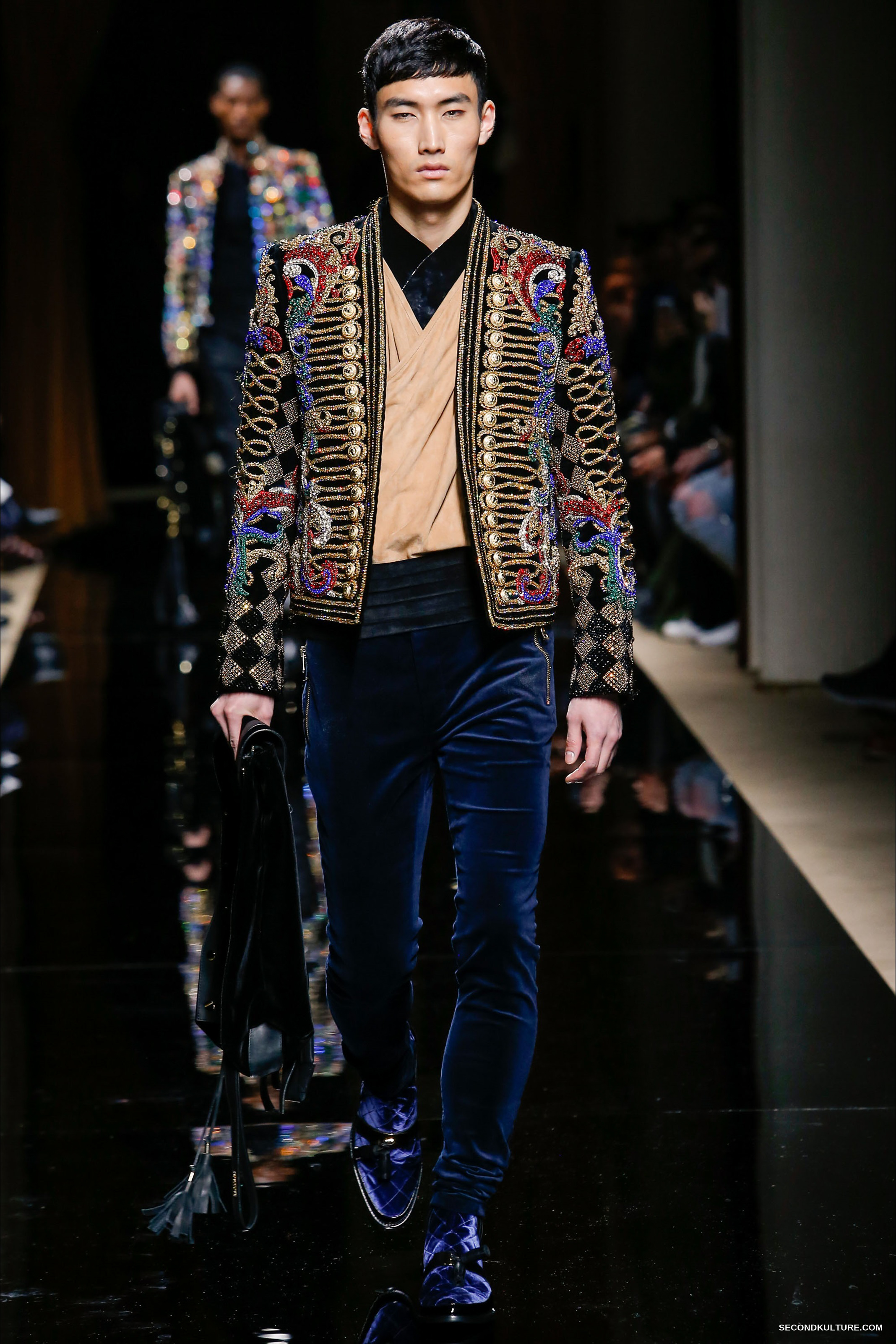 Balmain Fall Winter 2016 Menswear - Look 36/63
