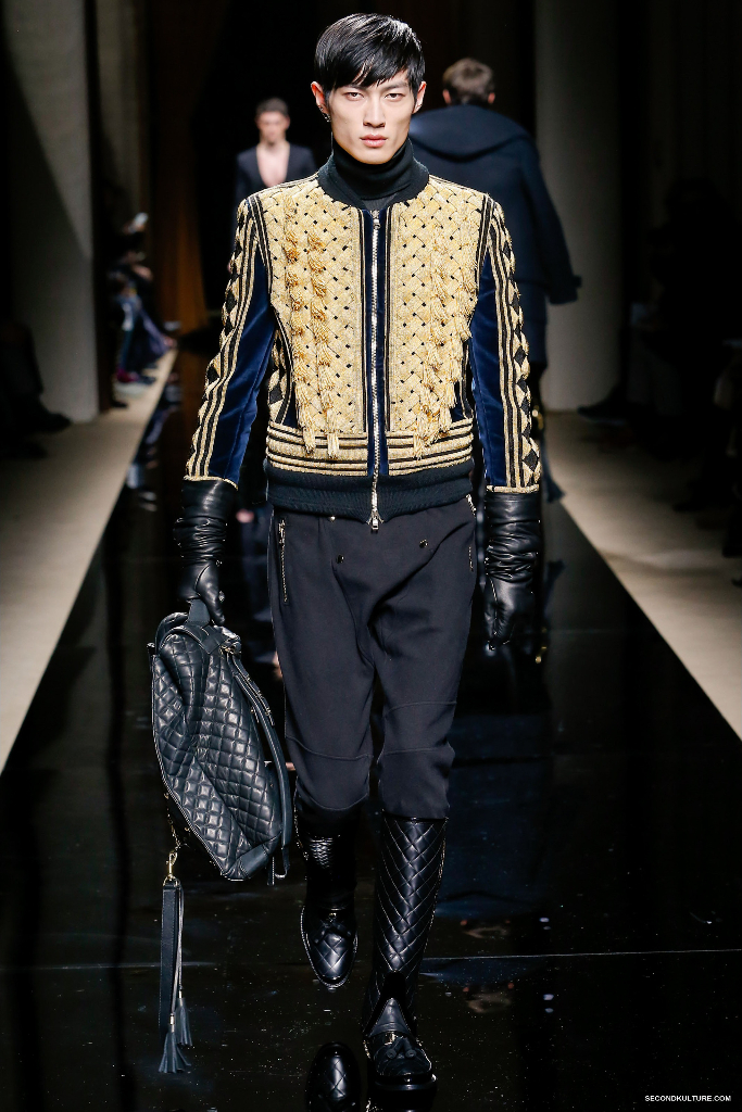 Balmain Fall Winter 2016 Menswear - Look 39/63