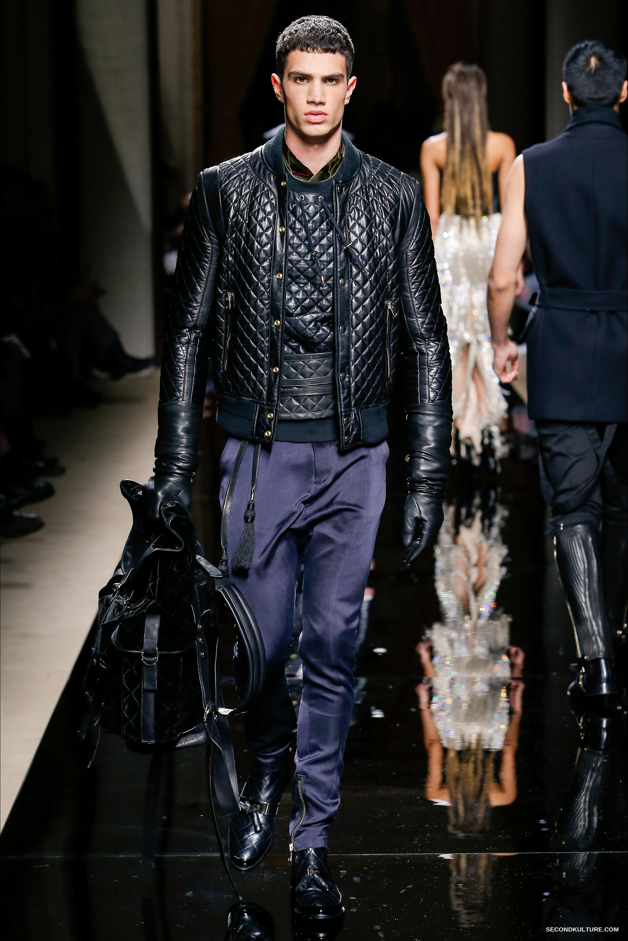 Balmain Fall Winter 2016 Menswear - Look 47/63