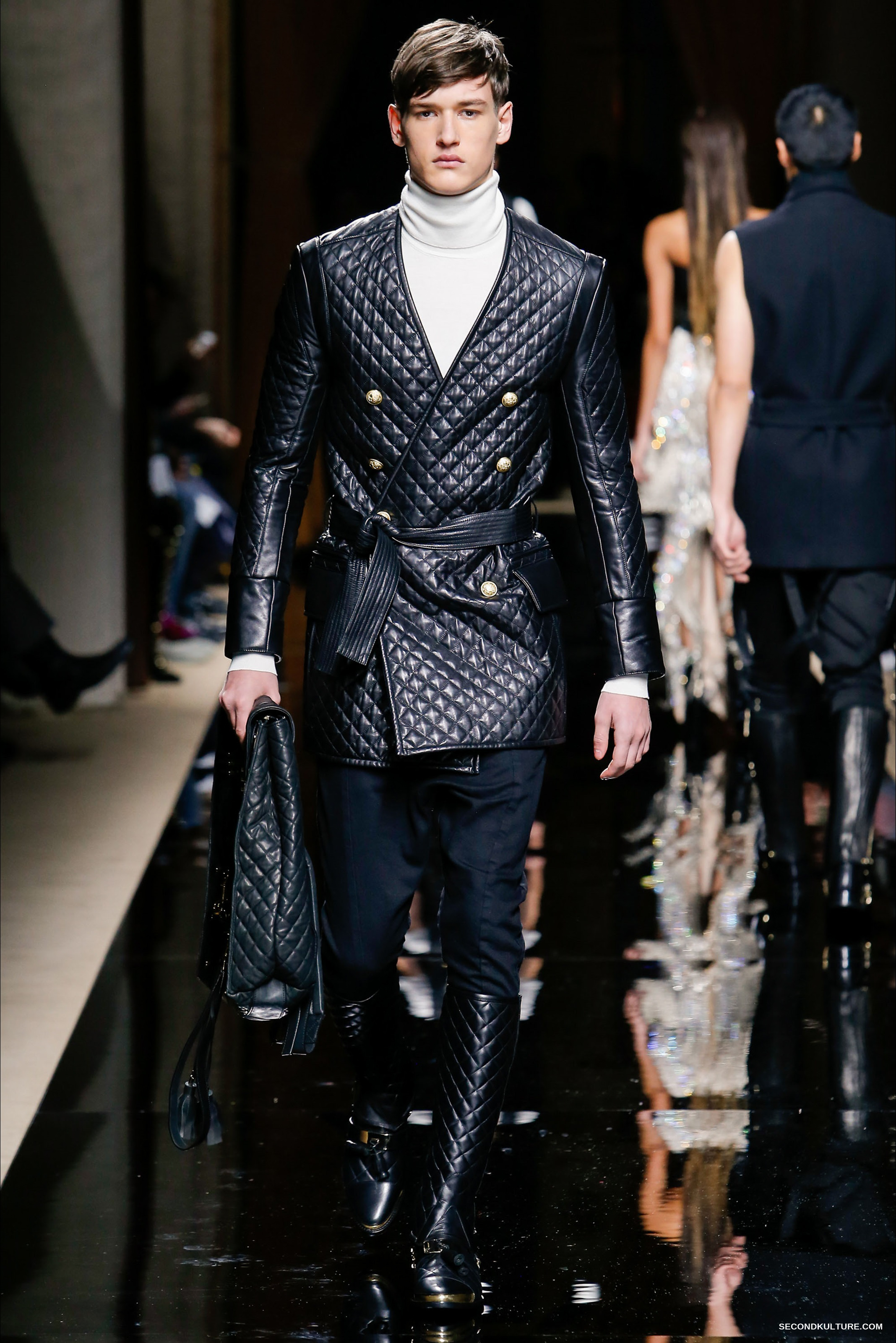 Balmain Fall Winter 2016 Menswear - Look 48/63