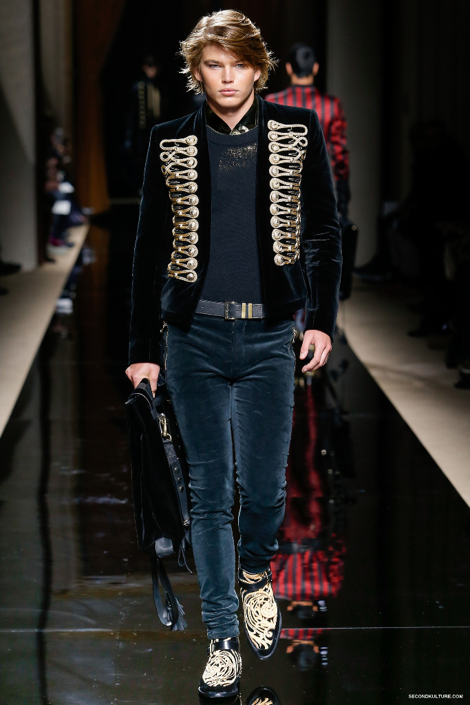 Balmain Fall Winter 2016 Menswear - Look 7/63