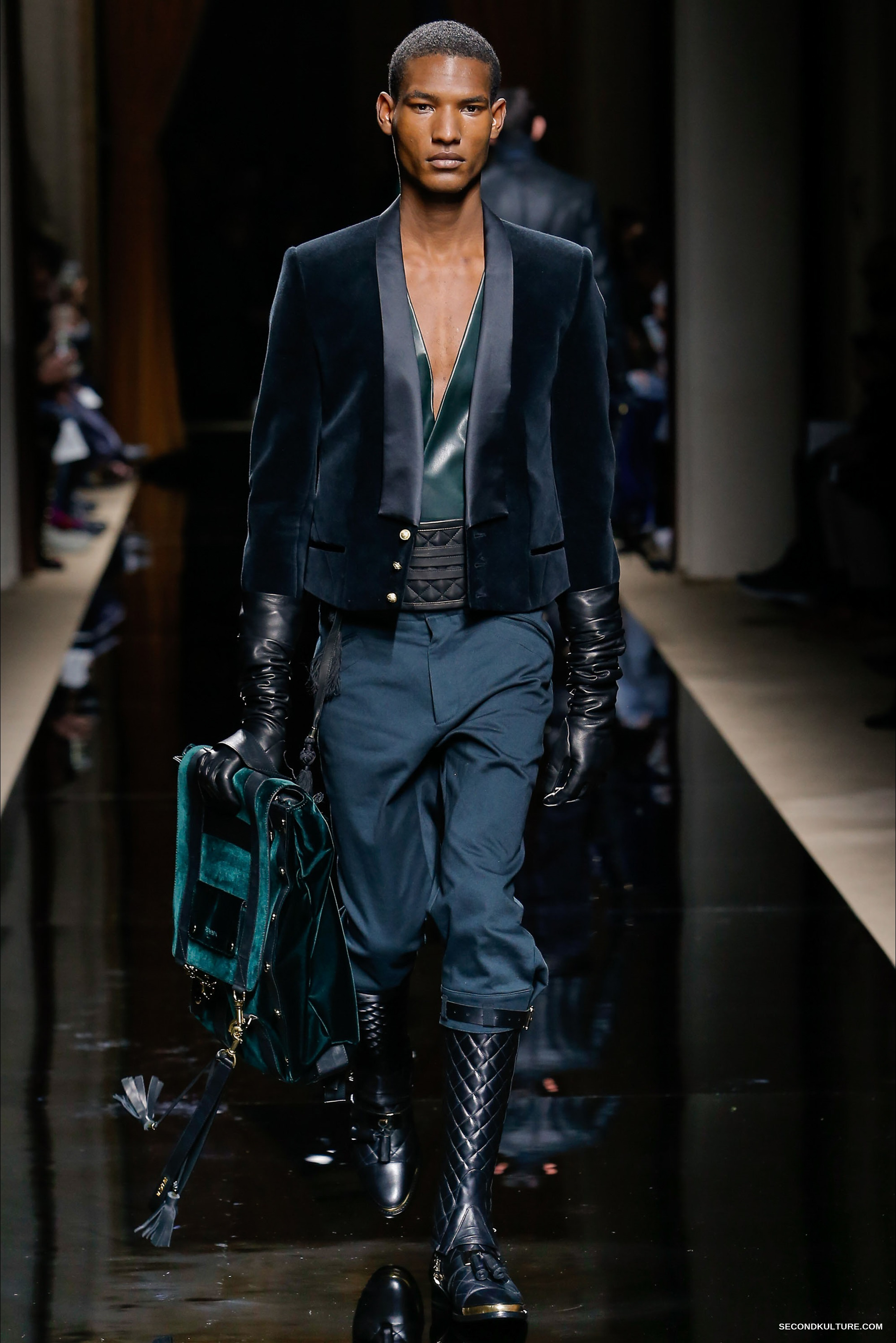 Balmain Fall Winter 2016 Menswear - Look 9/63