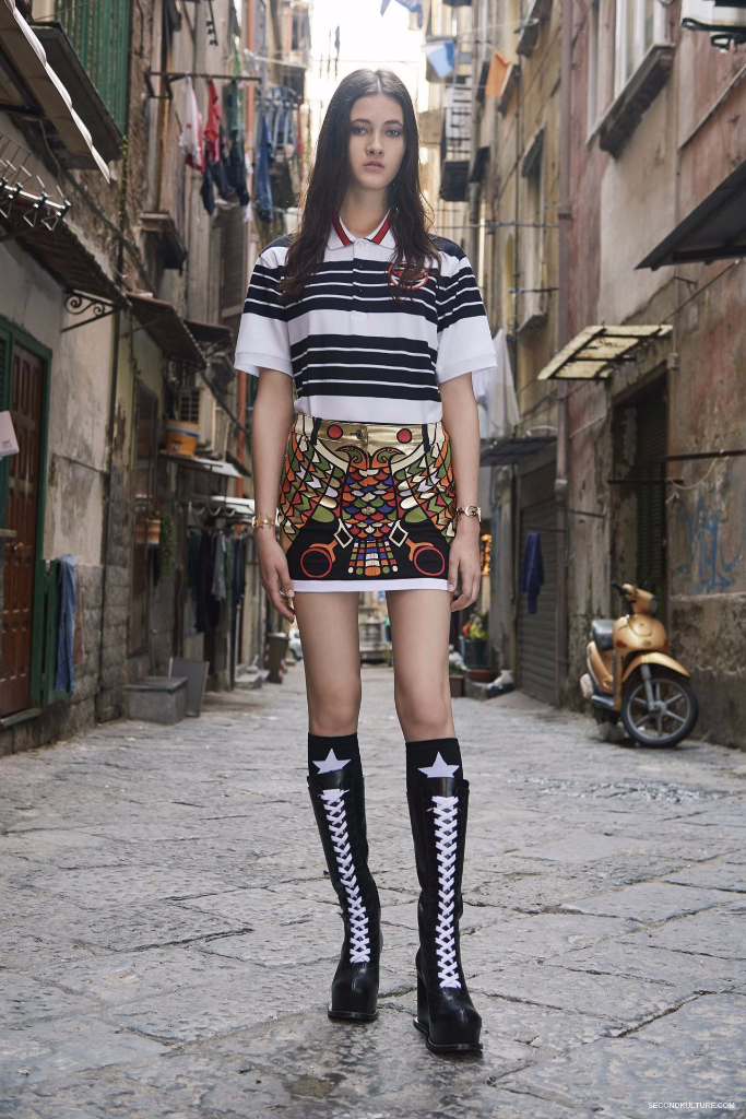 Givenchy Pre-Spring 2017 Womenswear - Look 12